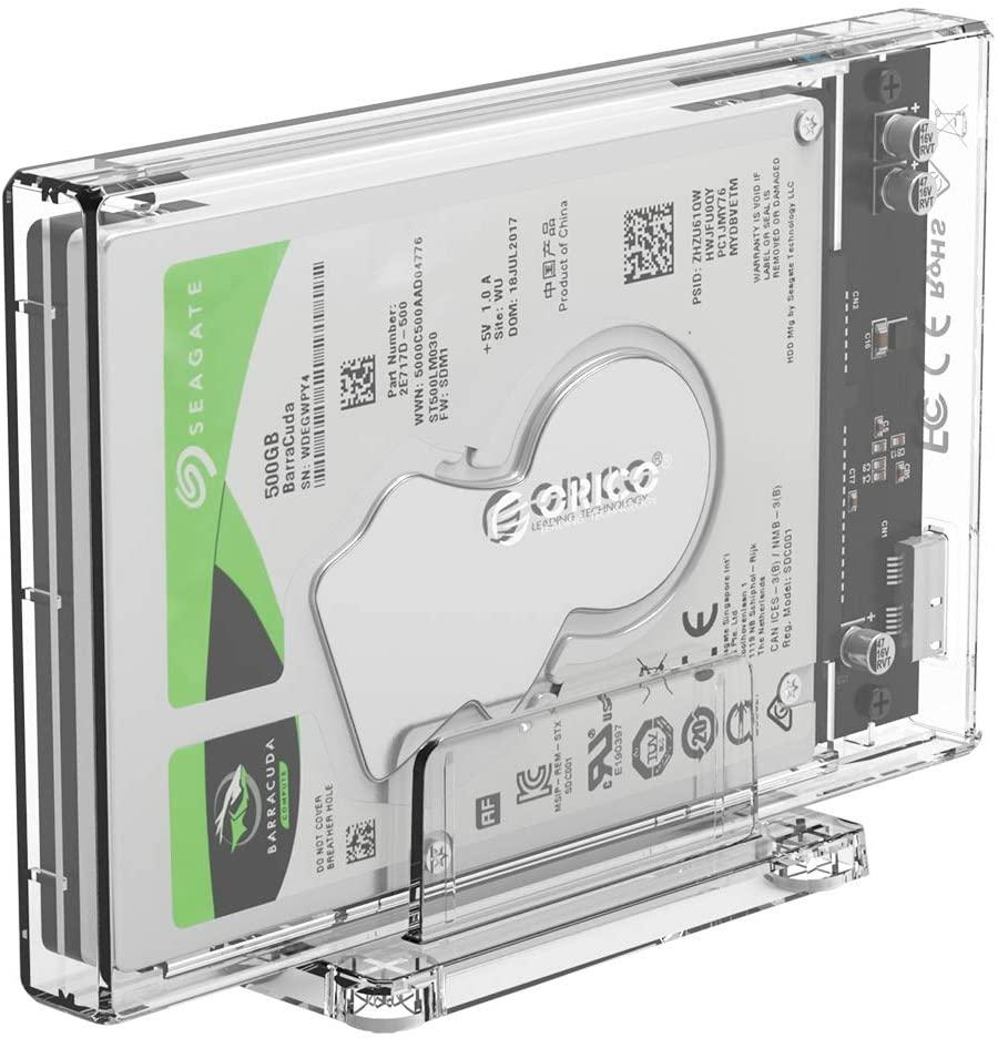 Un boîtier de disque dur externe 2,5'', USB 3.0 pratique et esthétique